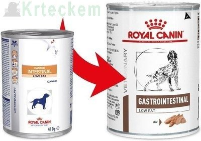 ROYAL CANIN Gastro Intestinal Low Fat LF22 12x410g konzerva