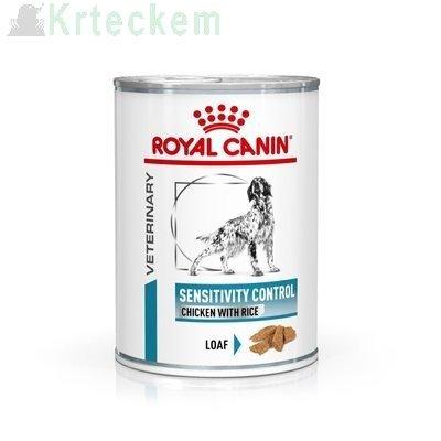 ROYAL CANIN Sensitivity Control SC 21 Chicken&Rice 12x420g konzerva