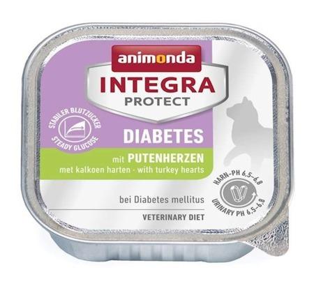 Animonda Integra Protect Adult Diabetes krůtí srdce 100g