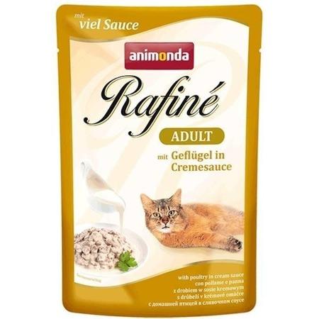 ANIMONDA Cat Rafine Soupe Drůbeží ve smetanové omáčce 100g