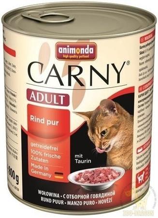 Animonda Cat Carny Adult příchuť: hovězí 800g