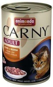 Animonda Cat Carny Adult příchuť: hovězí a kuřecí 400g