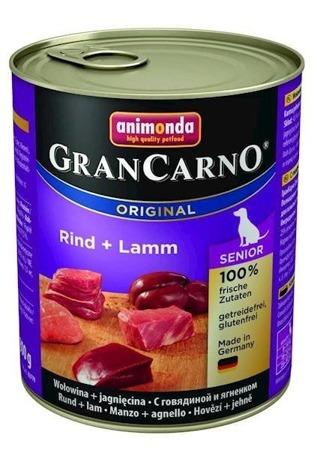Animonda GranCarno Senior  hovězí/jehně 800 g