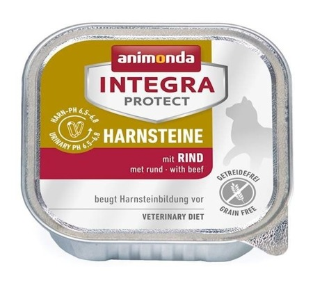 Animonda Integra Protect Urinary Harnsteine dieta s hovězím masem 100 g
