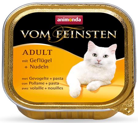 Chuť ANIMONDA Vom Feinsten pro dospělé kočky: Drůbež a nudle 100 g