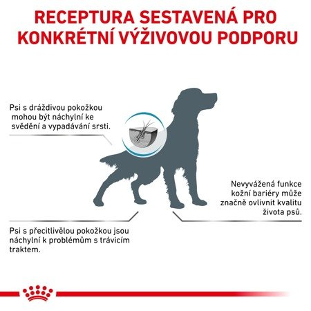 ROYAL CANIN Veterinary Diet Dog Skin Care Adult 11 kg